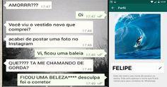 Felipe essa é sua conversa engraçada de whatsapp!