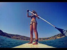 Sup day at the beach!  Music : Years & Years | Desire  With my handmade SUP at a sunny day in Athens!  #greece#sup#girl#athens#video