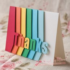 Add texture with nicely cut designs to make the card special.
