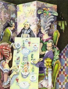 А.Погорельский. Чёрная курица, или Подземные жители. Худож. Виктор Пивоваров. Детская литература, 1973.