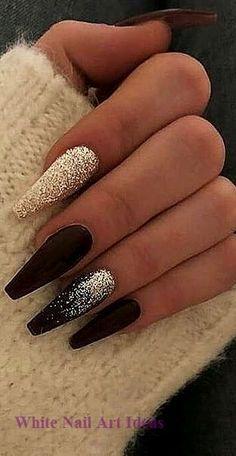 nails tips & nails tips . nails tips design . nails tips acrylic . nails tips design french . nails tips and tricks . nails tips design gel . nails tips gel . nails tips acrylic short Aycrlic Nails, New Year's Nails, Cute Nails, Pretty Nails, Manicure, Best Nails, New Nail Designs, Simple Nail Designs, Art Designs