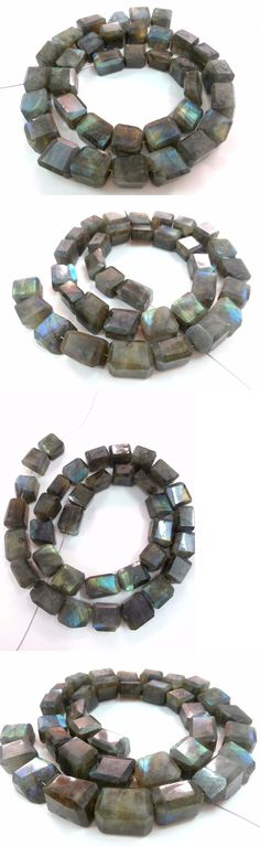 Other Loose Beads 179275: Full 16 Long Strand Labradorite Nugget Unshape Faceted 9-11Mm Gemstone Beads -> BUY IT NOW ONLY: $34.99 on eBay!