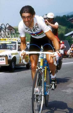 Claude Criquielion - World's winner in 1984.
