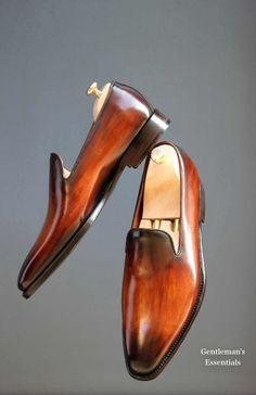 Landry LacourRead 'em and weep!Alexander Nuralaeff of Dandy Shoe Care, Photo Courtesy of Dapper EditionSeptieme LargueurSeptieme LargueurPaulus BoltenSeptieme LargueurLandry LacourSeptieme La… Me Too Shoes, Men's Shoes, Shoe Boots, Dress Shoes, Shoes Men, Ankle Boots, Suede Leather Shoes, Leather Men, Formal Shoes