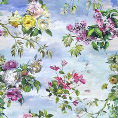 caprifoglio - sky wallpaper   Designers Guild