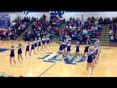 Notre Dame homecoming cheer routine 2014 - YouTube