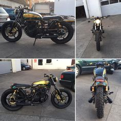 End is near ^^ Of course, work on the project  #supernalgaragedg #garage #suzuki #gs550  #gs550e #scrambler #caferacer #bratstyle #brat #tracker #custom #motorcycles #freestyle #modzimy #life #streettracker #end #work #happy