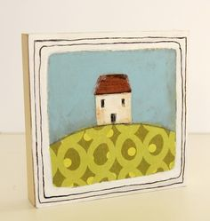 little house on the hill by heatherrenz on Etsy, $50.00