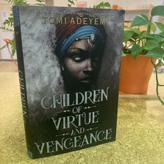 We're here with our book date, CHILDREN OF VIRTUE AND VENGEANCE by Tomi Adeyemi! This is the stunning sequel to #1 New York Times-bestseller CHILDREN OF BLOOD AND BONE, a sweeping work of fantasy set in a fictional West African World inspired by Tomi's Nigerian roots.