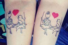 19 Tatuajes entre madres e hijas que te inspirarán a hacerte uno
