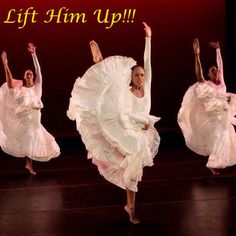 Dance Is...Uplifting!!! Lift Him Up!!! http://4everpraise.com #dance #praisedance