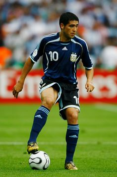 Juan Riquelme during the 2006 World Cup in Germany