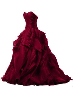 Sunvary Luxurious Burgundy Ball Gown Quinceanera Dresses for Prom with Ruffles <<< or for less fashiony people like me, red dress with frilly bits Purple Evening Gowns, Burgundy Evening Dress, Evening Dresses, Burgundy Gown, Purple Dress, Pink Gowns, Red Purple, Burgundy Quinceanera Dresses, Red Homecoming Dresses
