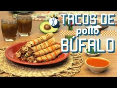 ¿Cómo preparar Tacos de Pollo Búfalo? - Cocina Fresca - YouTube