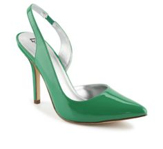 Limelight Kolby Women's Shoe Exude effortless elegance in the classy Kolby women's shoe from Limelight. It's primed with a patent polish and a pointed toe, while a sling-back strap lends a fierce finish to the silhouette. (GREEN)   Rack Room Shoes
