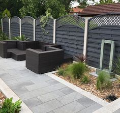 Transform your exterior with Blue Black Granite Paving from just Incl. FREE* Delivery available! Order a Free Sample today! Limestone Patio, Paving Stone Patio, Natural Stone Pavers, Granite Paving, Outdoor Paving, Sandstone Paving, Patio Slabs, Paving Stones, Garden Slabs