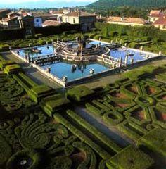 Rome Villa Lante #monogramsvacation