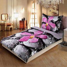 Apex povlečení Orchidea v rose, 3d Bedding, Linen Bedding, Bed Linen, Bedroom Bed, Bedroom Decor, Bed Rooms, Furniture, Home Decor, Rose