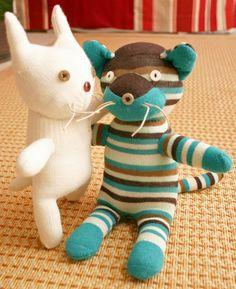 Glove Cat & Sock Cat