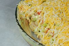 Best 7 Layer Bean Dip Recipe (I made this for dinner tonight with chips it was awesome!)