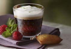 Iced raspberry coffee - Nespresso Ultimate coffee creations
