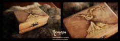 The Hobbit wood box by LuthienSecrets.deviantart.com on @deviantART
