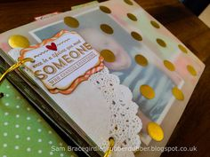 Mini Memories Simply Created album kit from Stampin' Up! More at Rubberdubber.blogspot.co.uk