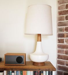 Brook Farm General Store - Table Lamp - Walnut, $499.00 (http://www.brookfarmgeneralstore.com/table-lamp-walnut/)