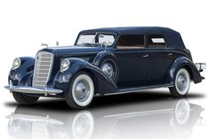 1938 Lincoln Model K LeBaron 414 L-Head V12 3spd