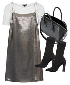 """""""Untitled #11177"""" by minimalmanhattan on Polyvore featuring Topshop, Yves Saint Laurent, Givenchy and Calvin Klein Collection"""