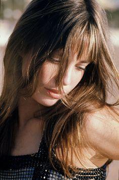 Jane Birkin #beauty #hair #bangs