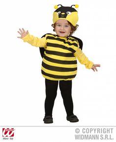 Dit snoezige bijenpakje is een van de leuke kinderkleding items uit deze grote online feestkleding winkel. Je vindt hier echt alles voor het kinderfeest.