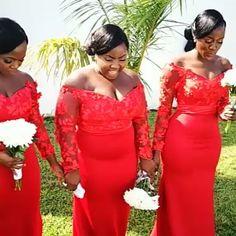 Happy Sunday's �������������� Makeup and hairstyle by @allure_by_Ben Coordination by @whitechalktheplanner  Video @sorce_photography  #allure_by_ben #weddinguest #weloveghanaianweddings #weddingdress #myghwedding #bridesmaids #bridesmaiddresses http://gelinshop.com/ipost/1524562732954655608/?code=BUoVbpnj5t4