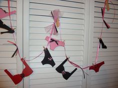 Lingerie Bachelorette Party Decoration, Bridal Shower Banner, Lingerie Party Banner on Etsy, $18.00