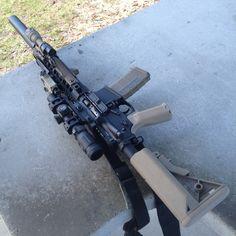 Airsoft Guns, Weapons Guns, Guns And Ammo, Rifles, Ar Rifle, Battle Rifle, Military Guns, Cool Guns, Assault Rifle