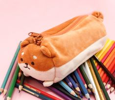 Kawaii Dog Pencil Case Source by flordelcerezo Related posts: No related posts. Cute Pencil Pouches, Cute Pencil Case, Pencil Bags, Dog Kawaii, Kawaii Shop, Stationary School, Cute Stationary, Birthday Gifts For Teens, Teen Birthday