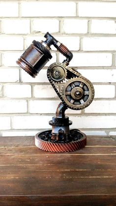 Steampunk industrial lamp st patrick's day gift Pipe lamp Edison lamp Steampunk lamps for desk Steampunk decor shop Rustic lamps Rustic Vintage industrial/Etsy gifts lamps/Rustic lighting/Edison Luminaire Vintage, Vintage Industrial Lighting, Industrial Design Furniture, Rustic Lighting, Rustic Furniture, Industrial Lamps, Industrial Chic, Industrial Farmhouse, Farmhouse Decor