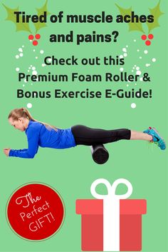"This Christmas, give the gift of living pain-free.  Check out this professional foam roller with our FREE E-GUIDE from Amazon, ""Get Rid of the Pain with Foam Rolling!""   We cover exercises for lower back pain, shoulder pain, neck pain, shin pain, IT band, hamstrings, quads, calves, glutes, abs, chest, and some great foam rolling tips!  http://www.amazon.com/dp/B00TBNWFOQ"