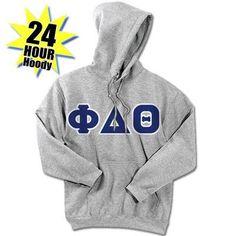 Phi Delta Theta 24-Hour Sweatshirt - G185 or S700 - TWILL