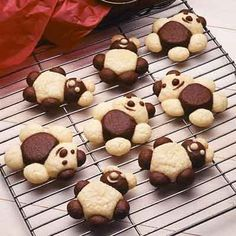 Cookies become a special treat when shaped into cute little teddy bears.