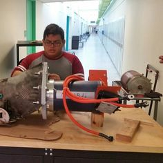 Mr. G at Bergen Community College: electric vehicle project continues.  This past Saturday we moved the engine and trans off of its engine cradle and onto the bench.  We then separated it to see how to move forward. We will need a new coupler cut on a lathe.  My students did a great job and have an even better account of this. Check out Kevin's Instagram page  @kev_lizama  Thank you for  checking out my Instagram. Did you know that I have a YouTube channel?  Just search... Ron Grosinger for…