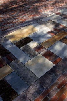 Wonderful paving pattern. Balfour Street Pocket Park by Jane Irwin Landscape Architects (JILA), Australia