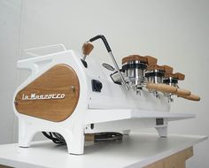 This rebuilt @lamarzoccoau Strada EP is still up for grabs! It's like new inside and out and ready to service any cafe! We can also organise training, to get the best out of your EP! Once you get to know these machines, they make incredible coffee! Make us an offer enquiries@spechtdesign.com.au #lamarzocco #stradaep #specialtycoffee #specht_design #spechtquality #handmade #handturned #handcrafted #melbourne #madeinmelbourne #instagood #igers #coffee #espresso