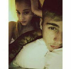 Ariana Grande and Justin Bieber manip