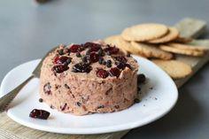 Vegan cranberry paté, Vegetarische paté maken, Vegan paté recept, Paté van bonen, Beaufood recepten, Vegan broodbeleg, Vegetarische broodbeleg