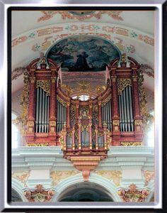 Jesuitenkirche St. Franz Xaver, Hauptorgel Luzern Metzler orgel 1982