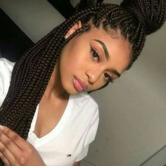 """10.4k Likes, 39 Comments - 20% off all hairs,coupon:HES (@mycrownedwigs) on Instagram: """"#braids  gorgeous!!!!! beautiful hair,you need!!! your hair,your crown#hair#wig#lacewig#crown…"""""""