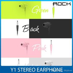 Fashion 3.55mm Plug Stereo Earphone For Iphone 10mm Speaker Headphone Sport Running Headsets Studio Music Wire & Mic In Retail Box By Rock Best Bluetooth Phone Earbuds Best Cell Phone Earphones From Dhiphone, $6.83| Dhgate.Com