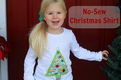 Welcome to the Mouse House: Mod Podge: No-Sew Christmas Tree Shirt