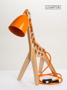 Awesome Handmade Kids Giraffe Desk Lamps A beautiful desk lamp with a unique nature-inspired design that brings cheerful moments into everyday life. The lamp is 45 cm high, 17 cm wide . Kids Desk Lamp, Kids Lamps, Miffy Lampe, Giraffe Lamp, Wooden Lamp, Blog Deco, Deco Design, Cheap Furniture, Discount Furniture